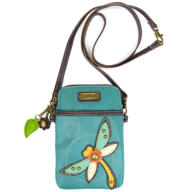 Cell Phone Crossbody - Dragonfly