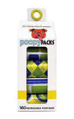Metro Paws Poopy Packs - Yellow