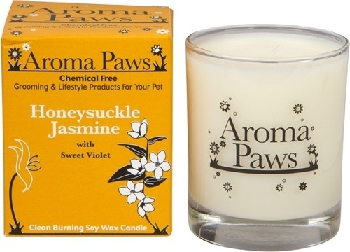 Aroma Paws Candle - Honeysuckle