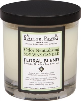 Aroma Paws Odor Neutralizing Floral Blend Candle