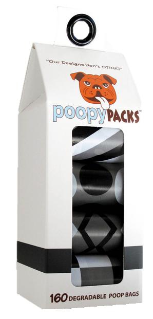 Metro Paws Poopy Packs - Black