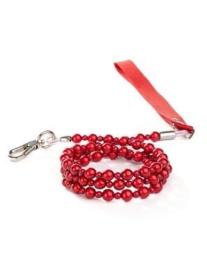 LumiBead Red Leash