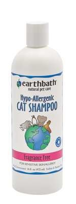 Earthbath Hypo-allergenic Cat Shampoo