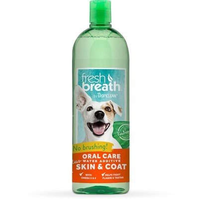 TropiClean Water Additive - Skin and Coat