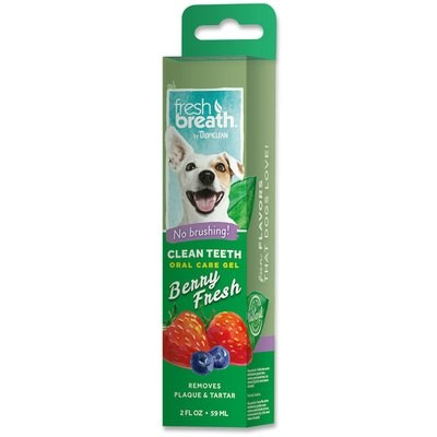 TropiClean Clean Teeth Gel - Berry