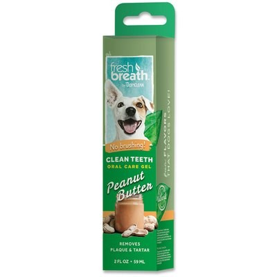 TropiClean Clean Teeth Gel - Peanut Butter