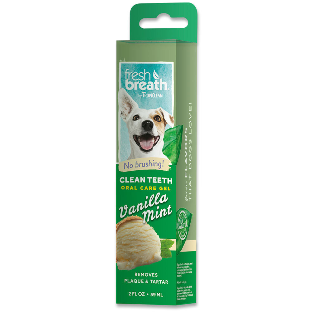 TropiClean Clean Teeth Gel - Vanilla Mint