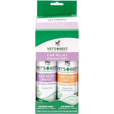 Vet's Best Ear Relief Kit