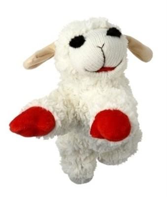 Lamb Chop Dog Toy