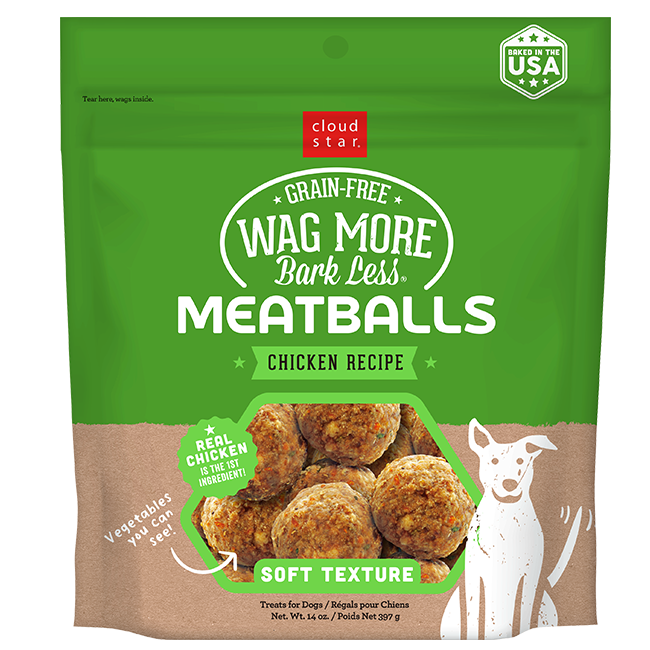 Wag More Bark Less Chicken Meatballs