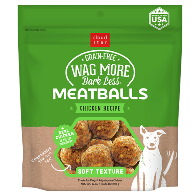 Wag More Bark Less Chicken Meatballs