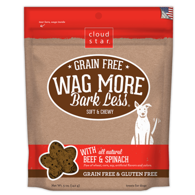 Wag More Bark Less Dog Treats - Beef