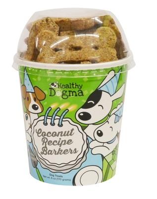 Healthy Dogma Coconut Birthday Barkers