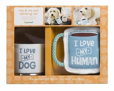Owner/Pet Gift Set - Love My Dog/Love My Human