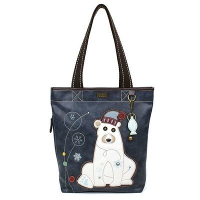 Chala Everyday Zip Tote - Polar Bear