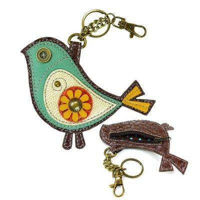 Chala Bluebird Coin Purse/Key Fob