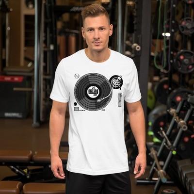247 Turntable Short-Sleeve Unisex T-Shirt