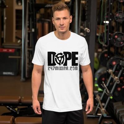 247 Dope Blk Letters Short-Sleeve Unisex T-Shirt