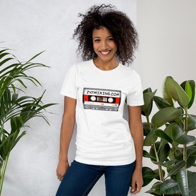 247 Mix Tape Short-Sleeve Unisex T-Shirt