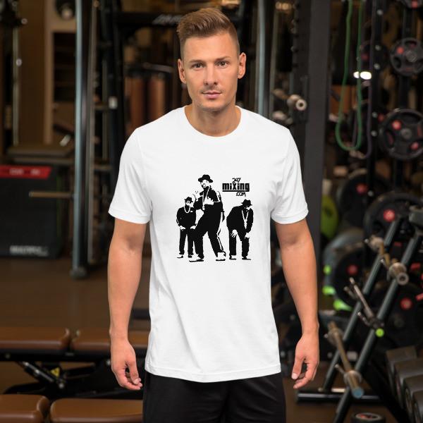 King Of Rock Blk Letter Short-Sleeve Unisex T-Shirt
