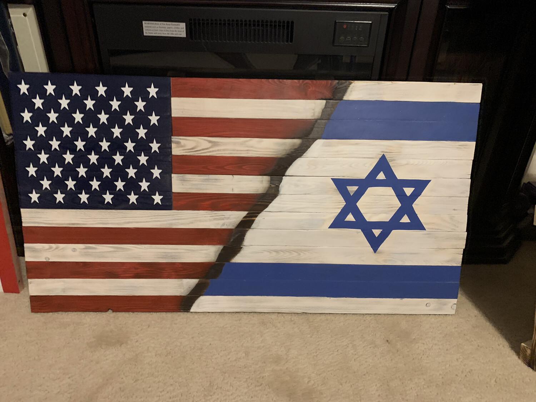 US/Israel Flag