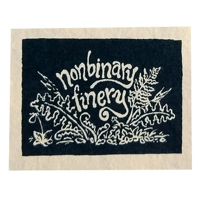 Nonbinary Finery Patch