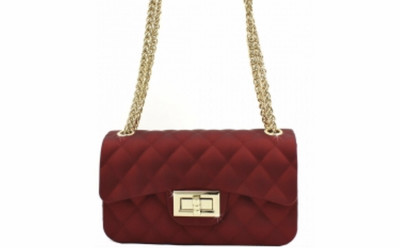 Quilted Jelly Small 2 Way Fashion Shoulder Bag