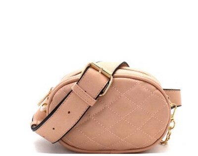 Quilted 2 Way Fanny Pack
