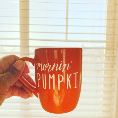 Mornin Pumpkin Mug