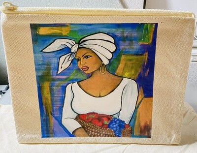 Culture Edition Canvas Cosmetic Bag