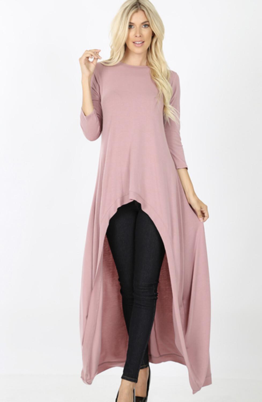 High Low Shirt Dress