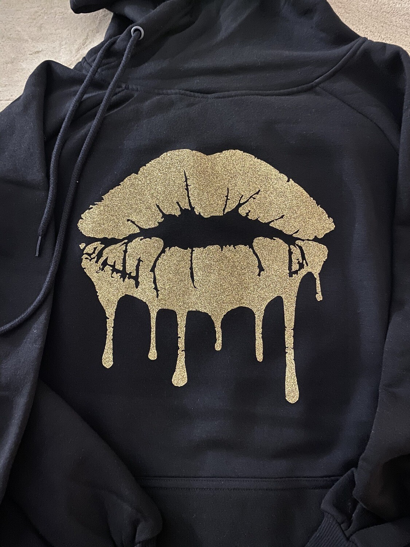 Glitter Lips Hoodie