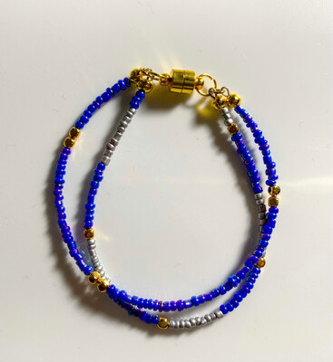 """""""Sweet"""" Double Bracelets with Magnetic Clasp"""
