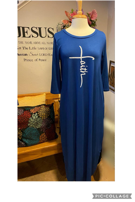 Supreme Custom Faith Maxi Dress