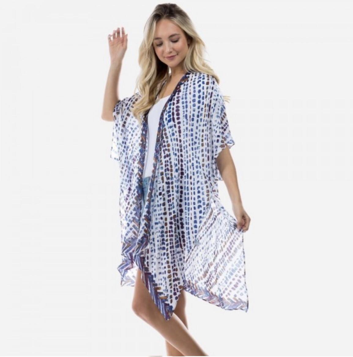 Let's Get Beachy Kimono