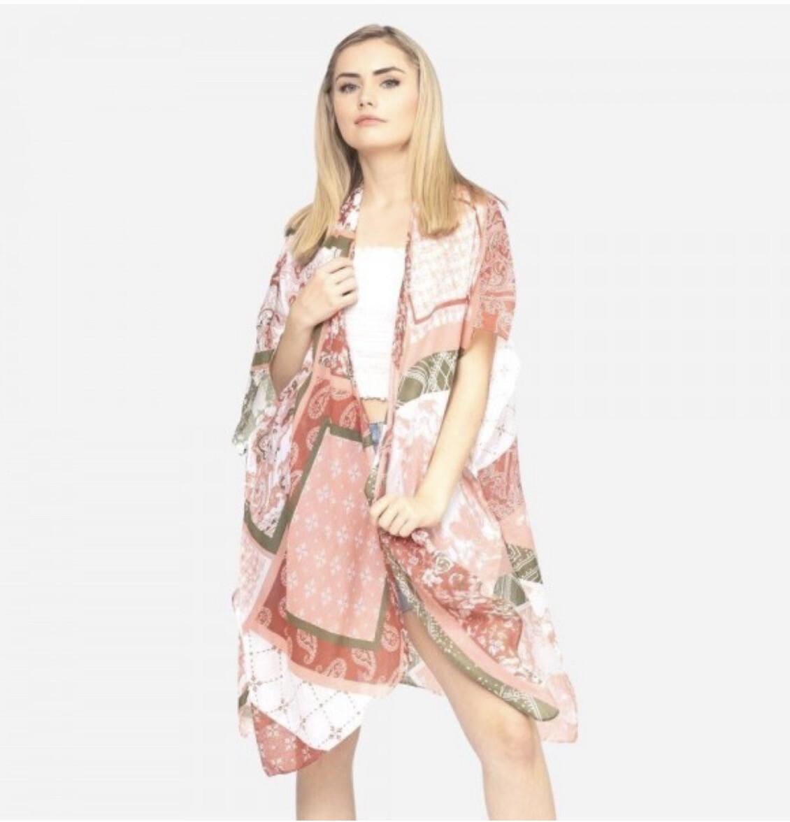 Fun In Pink Kimono