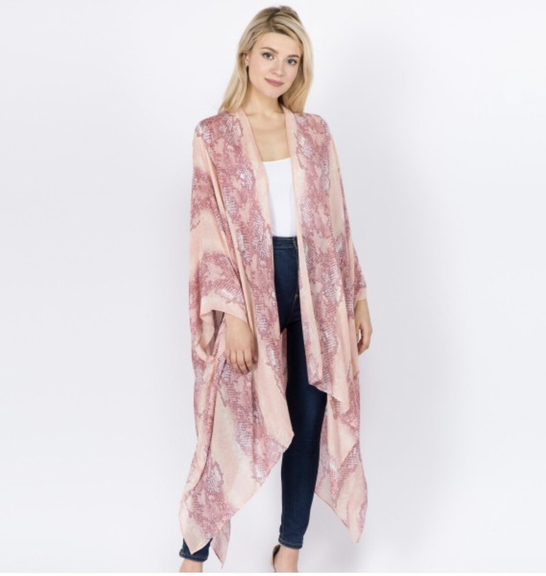 Pretty In Pink Kimono