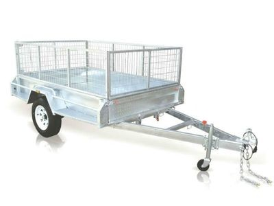 Caged Trailer 7 x 4 - $55.00