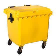 Yellow Bin 1100L