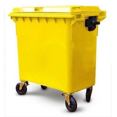 Yellow Bin 660L