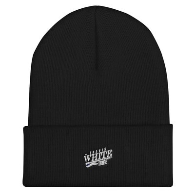 Travis White Tribe Cuffed Beanie
