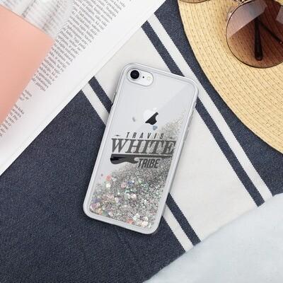 Travis White Tribe Rock Star Liquid Glitter Phone Case