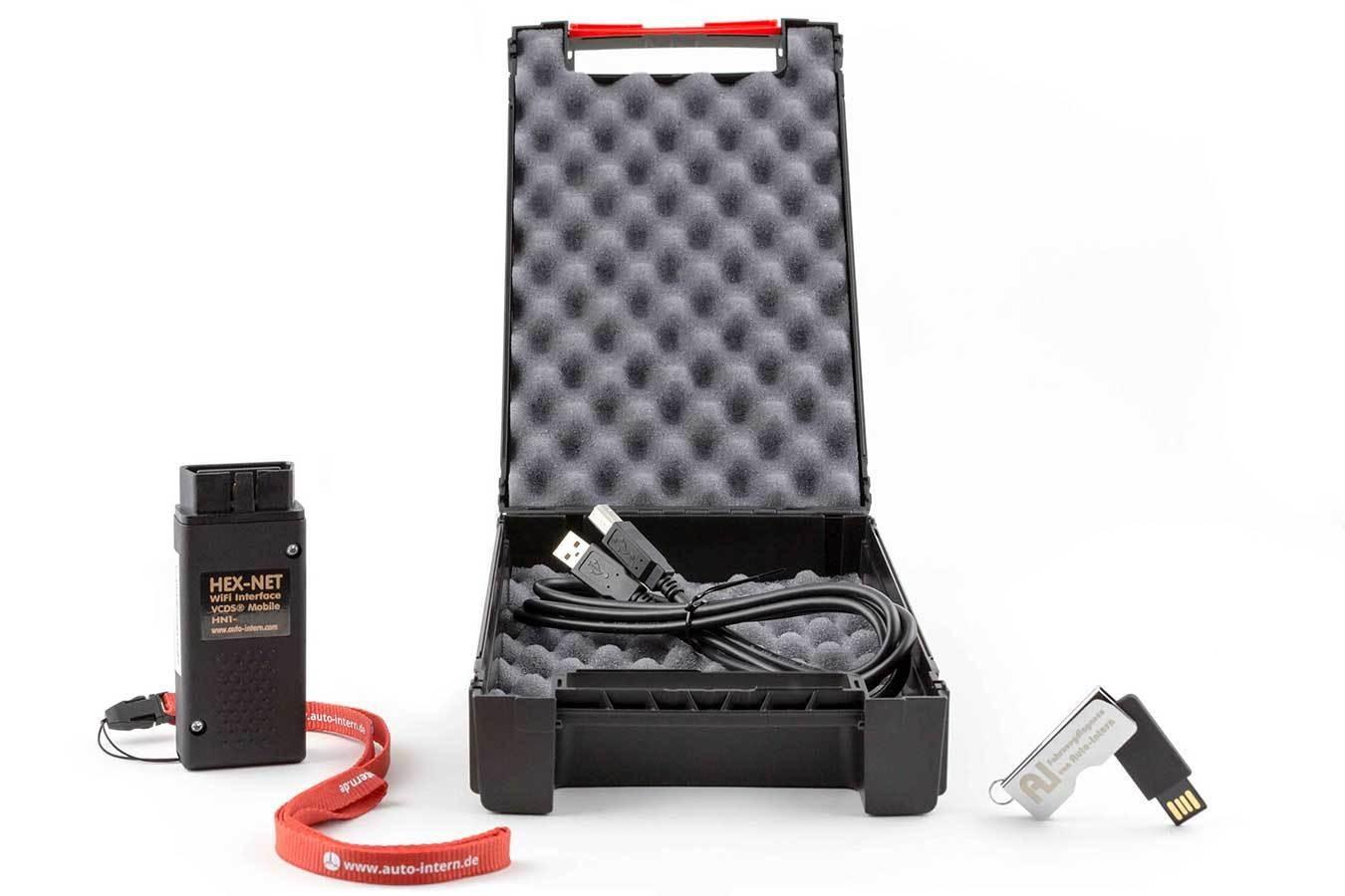 VAG VCDS Basiskoffer HEX-NET