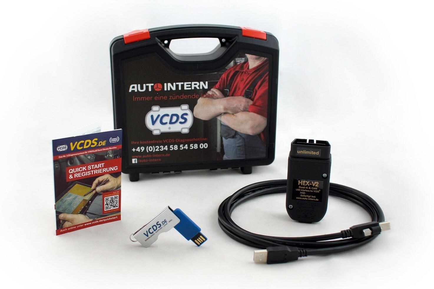 VCDS Basiskoffer HEX-V2