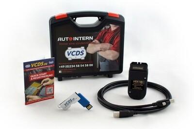 VAG VCDS Basiskoffer HEX-V2