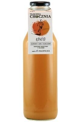 VIGOR 750ml Świeży Sok warzywno-owocowy seler/jabłko/marchewka/imbir