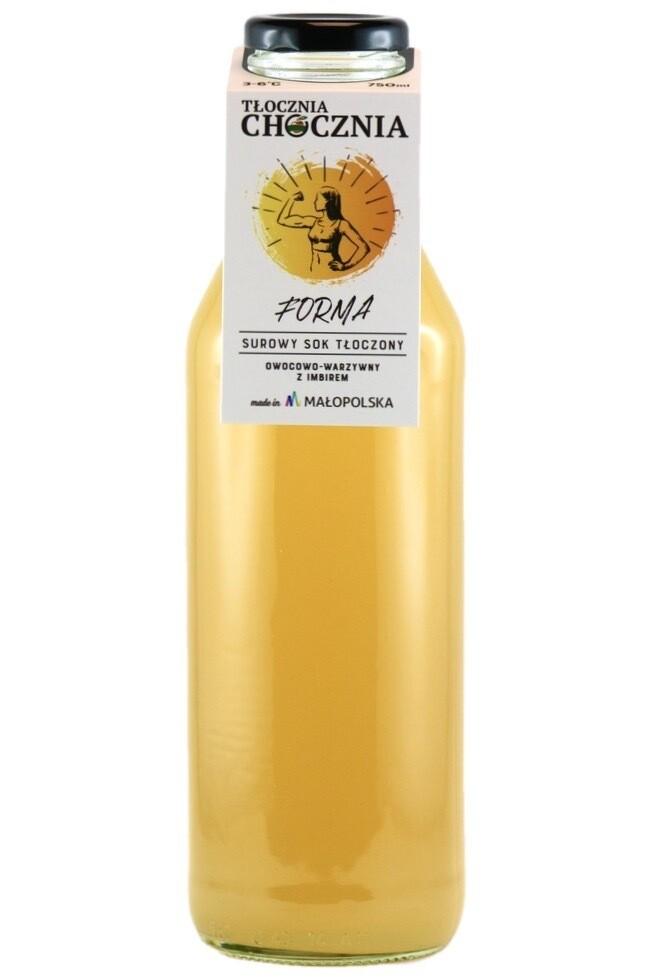 FORMA 750ml Świeży sok warzywno-owocowy imbir/cytryna/jabłko