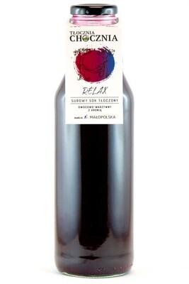 RELAX 750ml Świeży Sok warzywno-owocowy aronia/burak/jabłko