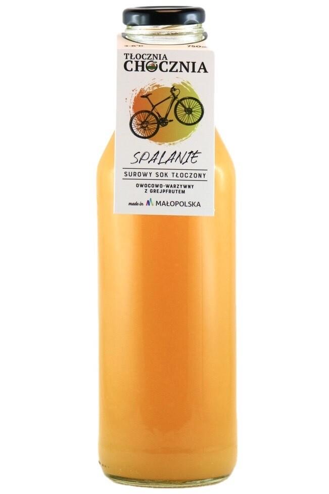 SPALANIE 750ML Świeży Sok owocowo-warzywny grejpfrut/imbir/pomarańcza