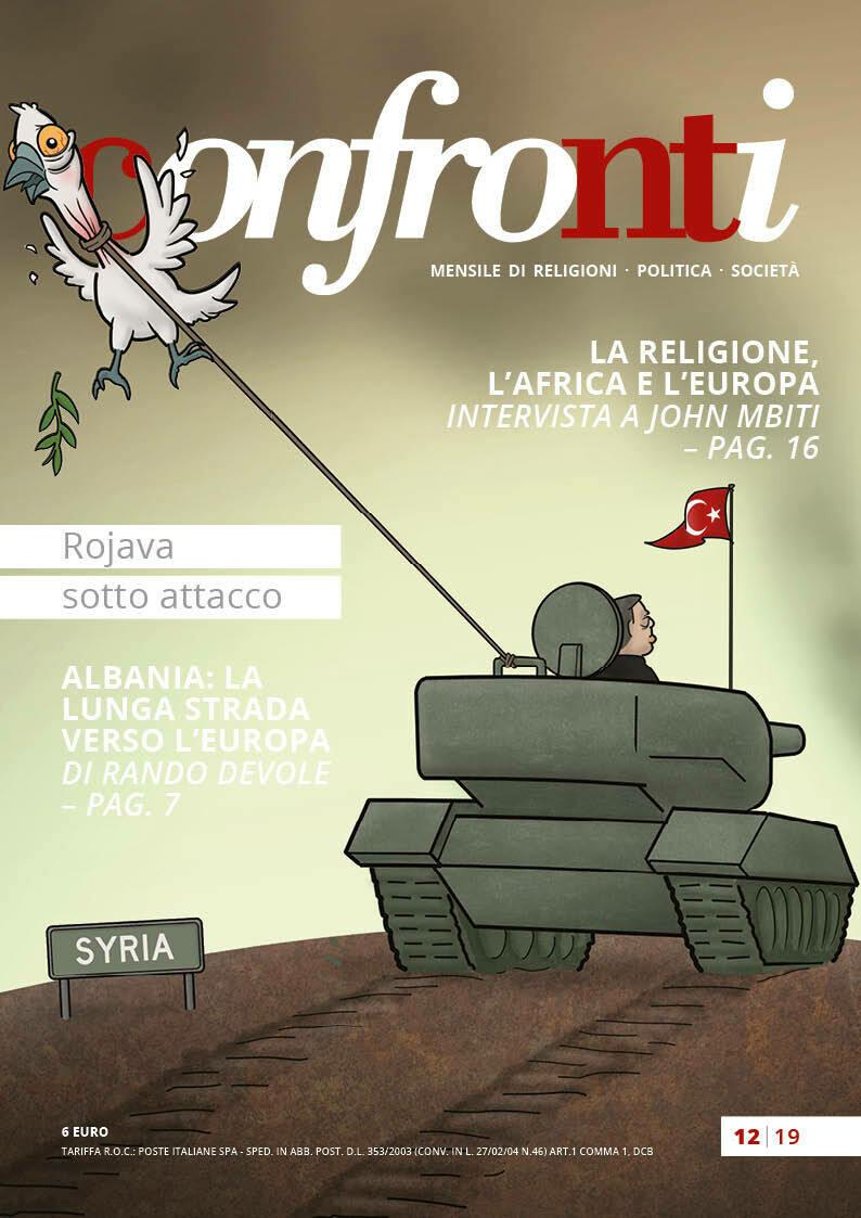 Confronti dicembre 2019 − Rojava sotto attacco (PDF)